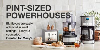 Pint-Sized Powerhouses, Big flavors are easily achieved in small settings-like your countertop, Created for Macy's