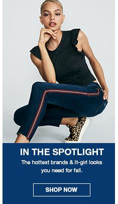In The Spotlight, The hottest brands and it-girl looks you need for fall, Shop Now