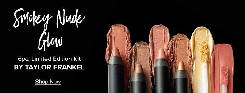 Smokey Nude Glow, 6piece, Limited Edition Kit, By Taylor Frankel