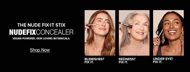 The Nude Fix-It Stix,  Nudefixconcealer, Vegan Powered, Skin Loving Botanicals