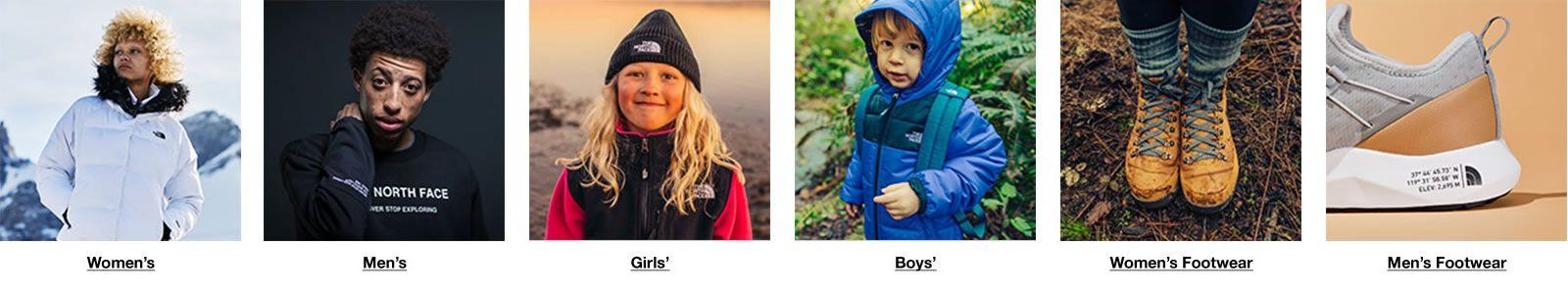 Women's, Men's, Girls, Boys, Women's Footwear, Men's Footwear