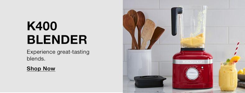 K400 Blender, Experience great-tasting blends, Shop Now