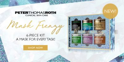 Peter Thomas Roth Clinical Skin Care, 6-Piece Kit a Mask For Every Task!, Shop Now, New!