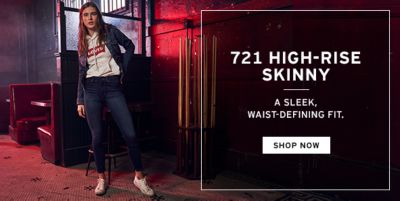 721 High-Rise Skinny, a Sleek, Waist-Defining Fit, Shop Now