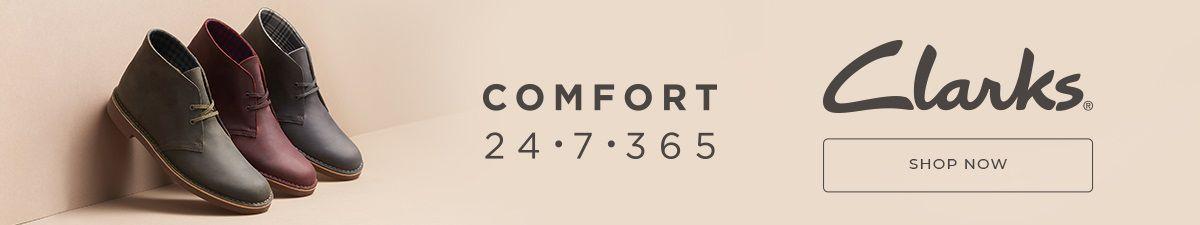 Comfort 24.7.365, Clarks, Shop Now