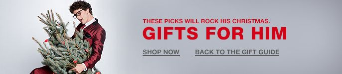 These Picks Will Rock His Christmas, Gifts for Him, Shop Now, Back to the Gift Guide