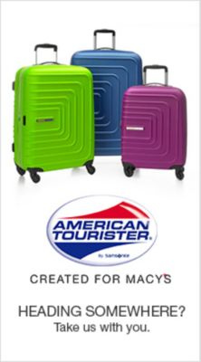 American Tourister, Created For Macy's, Heading Somewhere? Take us with you