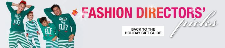 Fashion Directors picks, Back to the Holiday Gift Guide