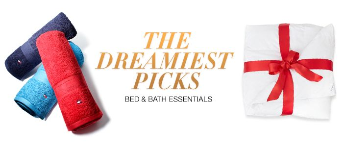 The Dreamiest Picks, Bed and Bath Essentials