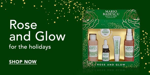 Rose and Glow for the holidays, Shop Now