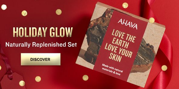 Holiday Glow, Naturally Replenished Set, Discover