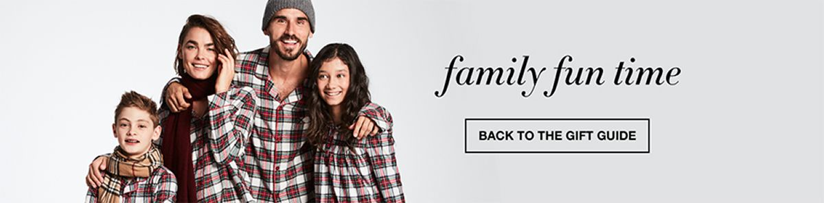 Family fun time, Back to The Gift Guide