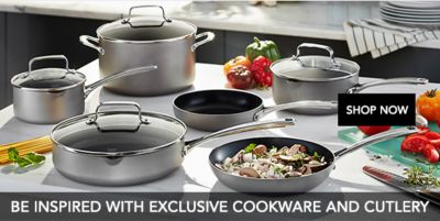 Be Inspired With Exclusive Cookware And Cutlery