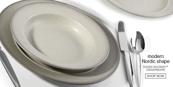 Modern Nordic Shape, Dansk Madsen, Dinnerware, Shop Now