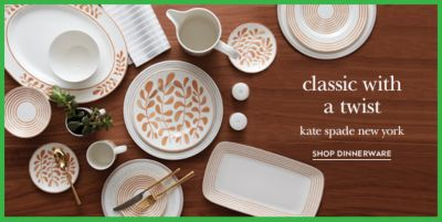 Classic with a twist, Kate spade New York, Shop Dinnerware