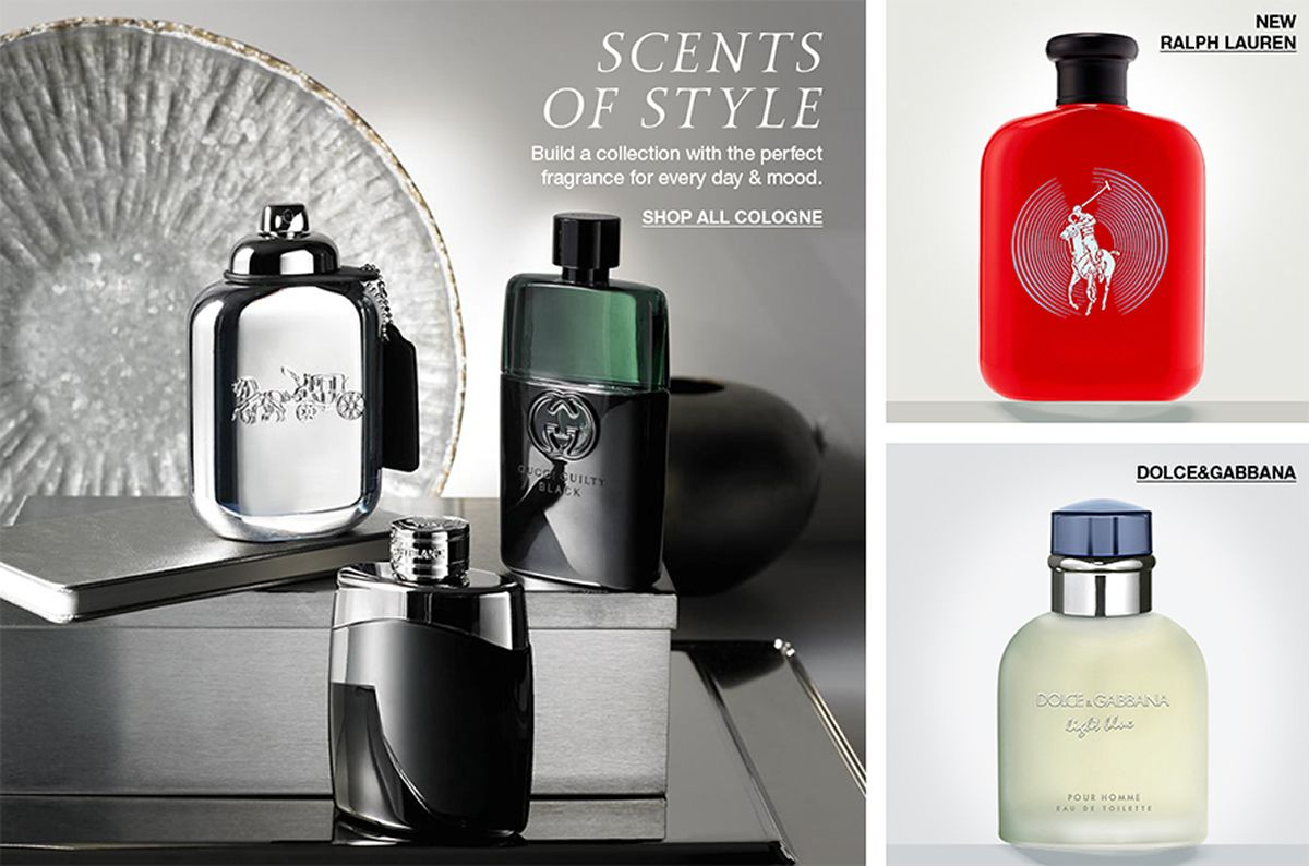 Scents of Style, Shop All Cologne, New Ralph Lauren, Dolceand Gabbana