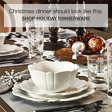 Christmas dinner should look like this, Shop Holiday Dinnerware