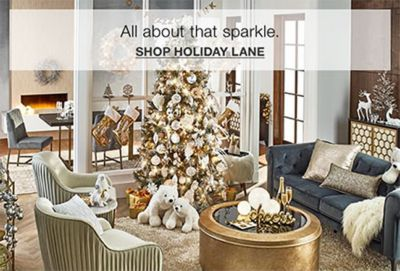 All about that sparkle, Shop Holiday Lane