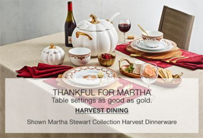 Thankful for Martha, Harvest Dining