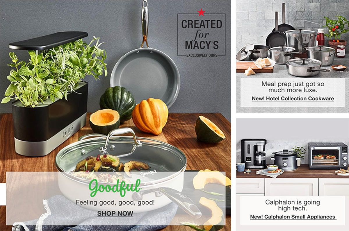 Kitchen Collections Store | Kitchen Appliances Cookware More Macy S