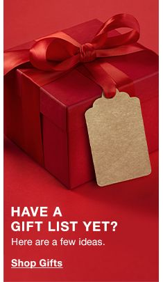 Have a Gift List Yet? Here are a few ideas, Shop Gifts