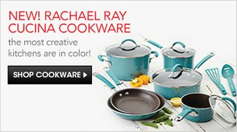 New! Rachael Ray Cucina Cookware, the most creative kitchens are in color! Shop Cookware