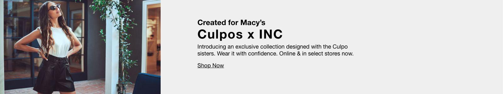 Created for Macy's Culpos x INC, Shop Now