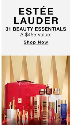 Estee Lauder, 31 Beauty Essentials, Shop Now