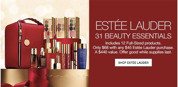 Macys: Estee Lauder 31-Pc. Blockbuster Set $68 with $45 Estee Lauder Purchase