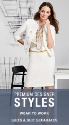 Premium Designer Styles, Wear to Work, Suit and Suit Separates