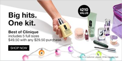 Big hits one Kit, $210 Value, Best of clinique, Shop Now