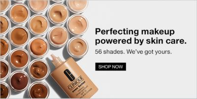 Perfecting makeup powered by skin care, 56 shades, We've got yours, Shop Now