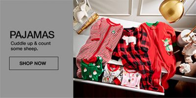 Pajamas, Cuddle up and count some sheep, Shop Now