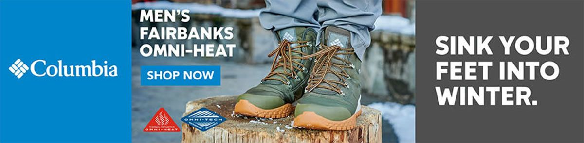 Columbia, Men's FairbankS Omni- Heat, Shop Now, Sink Your Feet Into Winter