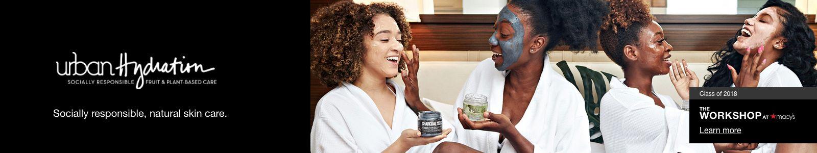 Urban hydration, Socially  responsible , natural skin care