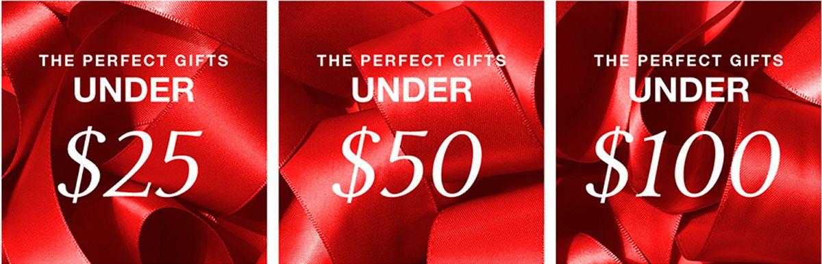 The Perfect Gifts, Under $25, The Perfect Gifts Under $50, The Perfect Gifts Under$ 100