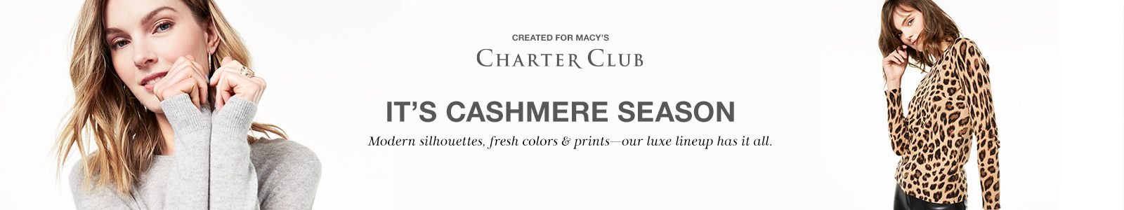 Created For Macy's, Its Cashmere Season