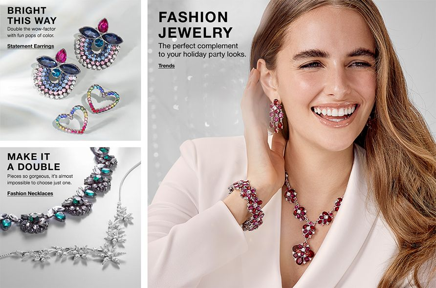 Bright This Way, Double the wow-factor with fun pops of color, Statement Earrings, Make it a Double, Fashion Necklaces, Fashion Jewelry, The perfect complement to your holiday party looks, Trends