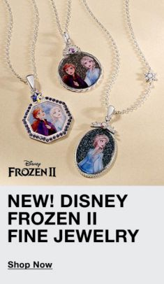 New! Disney Frozen II Fine Jewelry, Shop Now