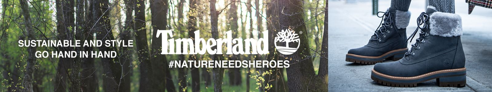 Sustainable and style go Hand in Hand, Timberland