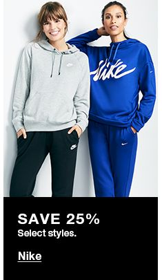 Save 25 perfect Select styles, Nike