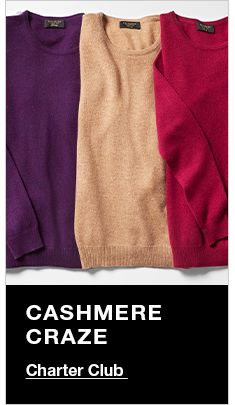 Cashmere Craze, Charter Club