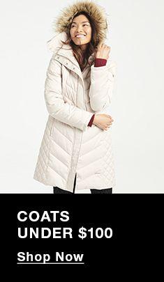 Coats Under $100, Shop Now