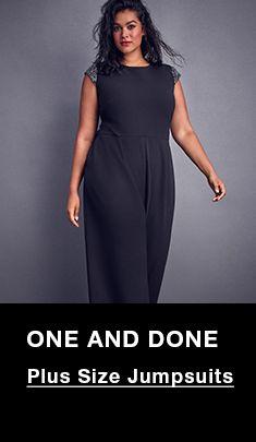 One and Done, Plus Size Jumpsuits