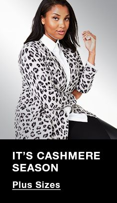 It's Cashmere Season, Plus Sizes