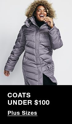 Coats Under $100, Plus Sizes