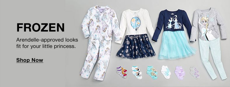 Frozen, Arendelle-approved looks fit for your little princess, Shop Now