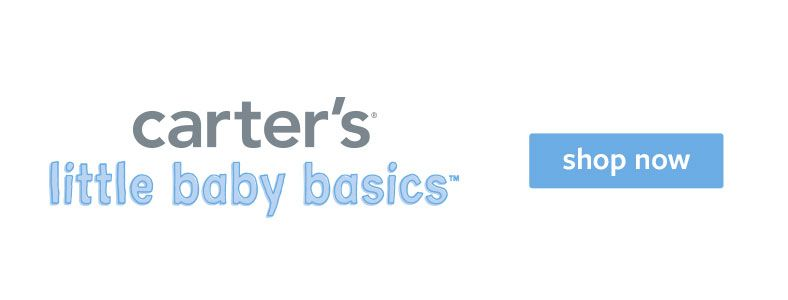 Carter's, little baby basics, Shop now