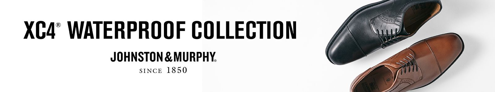 XC4, Waterproof Collection, Johnston and Murphy, Since 1850