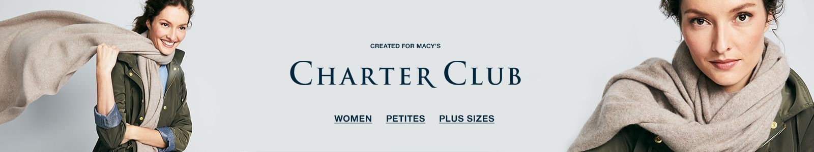 Created for Macy's, Charter Club, Women, Petites, Plus Sizes